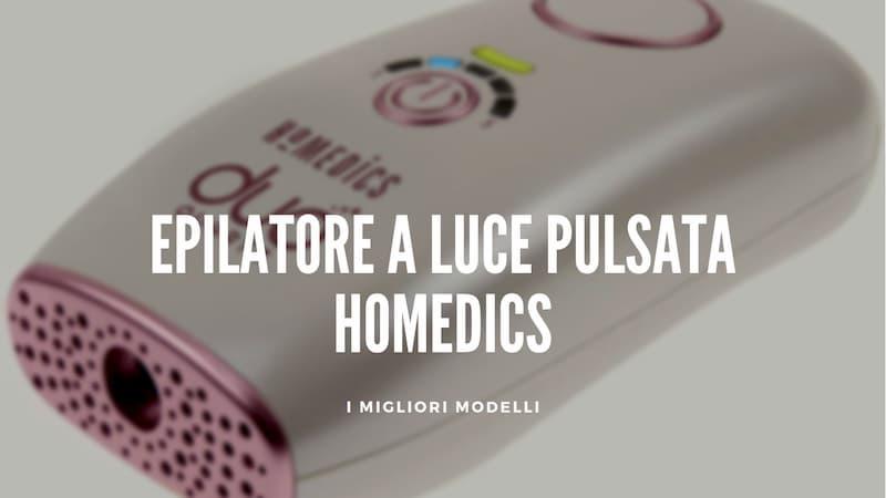 Epilatore luce pulsata HoMedics